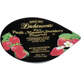Dickinson Strawberry Preserves - 0.5oz