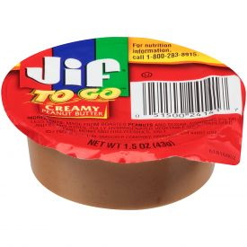 JIF Creamy TO GO Peanut Butter - 1.5oz