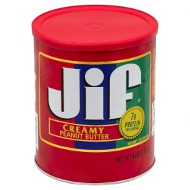 Jif Creamy Peanut Butter 4lb.