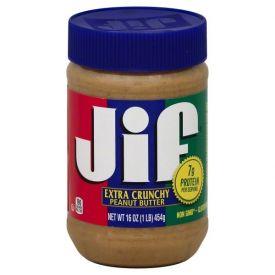 Jif Crunchy Peanut Butter 16oz.