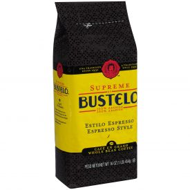 Bustelo Whole Bean Supreme Coffee 16oz.