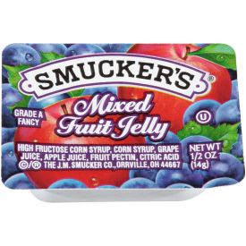 Smucker's Mixed Fruit Jelly - 0.5oz