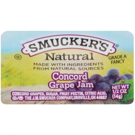 Smucker's Natural Grape Jam - 0.5oz