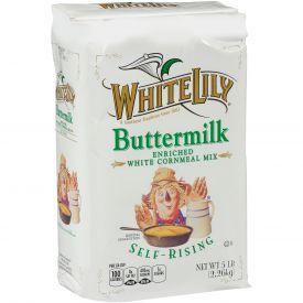 White Lily Self-Rising Buttermilk Cornmeal 5lb.