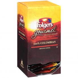 Folgers Gourmet Selection 100% Colombian Pods 10 gm.