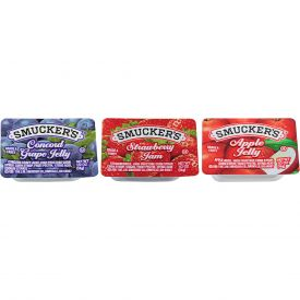 Smucker's Jelly Assortment #8 - 0.5oz