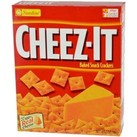 Cheez-It Baked Snack Cheese Crackers, Original - 12.4oz
