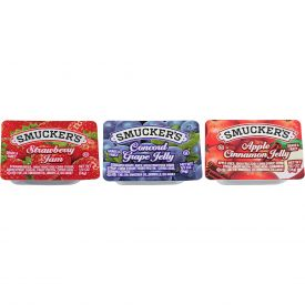 Smucker's Jam & Jelly Assortment #7 - 0.5oz