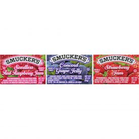 Smucker's Jam & Jelly Assortment #17 - 0.5oz
