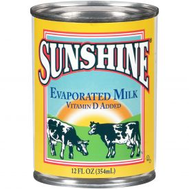 Sunshine Evaporated Milk 12oz.