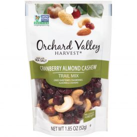 Orchard Valley Cranberry Almond Cashew Trail Mix 1.85oz.