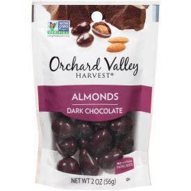 Orchard Valley Dark Chocolate Flavored Almonds 2oz.