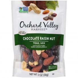 Orchard Valley Chocolate Raisin Nut Trail Mix 2oz.