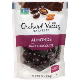 Orchard Valley Dark Chocolate Almonds 2oz.