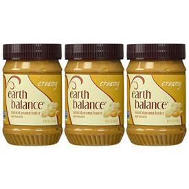 Earth Balance Creamy Peanut Butter 16oz.