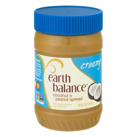 Earth Balance Creamy Coconut And Peanut Spread 16oz.
