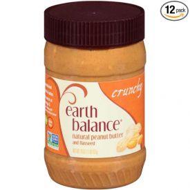 Earth Balance Crunchy Peanut Butter 16oz.