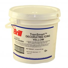 Brill Decorating Icing Yellow 14lb.