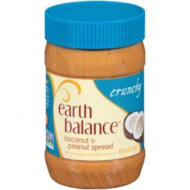 Earth Balance Crunchy Coconut And Peanut Spread 16oz.