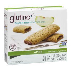 Glutino Apple Breakfast Bars - 1.41oz