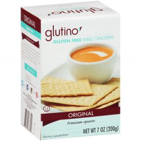 Gluten Free Table Crackers 7oz
