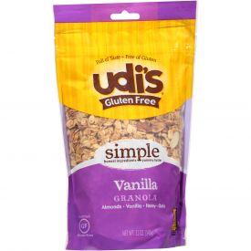 Udi's Gluten Free Granola Vanilla 12oz