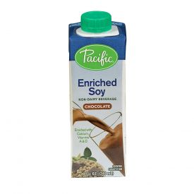 Pacific Foods Pacific Enriched Chocolate Soy Milk 8oz.