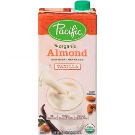 Pacific Foods Organic Vanilla Almond Milk 32oz.