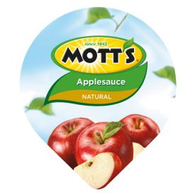 Motts Natural Applesauce Tub 4.5oz.