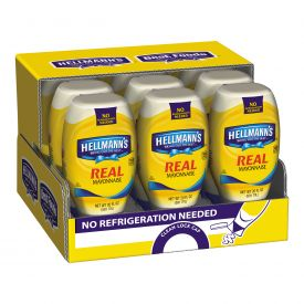 Hellmann's Real Mayonnaise Squeeze Bottle 20oz.