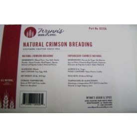 Wynn's Grain & Spice Natural Crimson Breading 25lb.