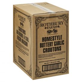 Rothbury Farms Homestyle Butter Garlic Croutons 2.25lb.