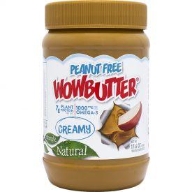 Wowbutter Peanut Free Creamy Spread Jars 1.1lb.