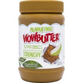 Wowbutter Peanut Free Crunchy Spread Jars 1.1lb.