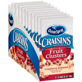 Ocean Spray Craisins Cranberry Almond Clusters 2oz.