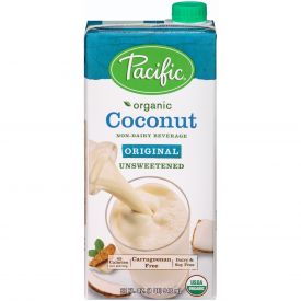 Pacific Foods Original Organic Coconut Unsweetened 32oz.