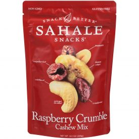 Sahale Raspberry Crumble Cashew Mix 8oz.