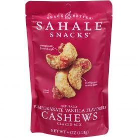 Sahale Pomegranate Vanilla Flavored Cashew Mix 4oz.