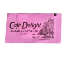 Cafe Delight Pink Saccharin Packets 0.8gm.