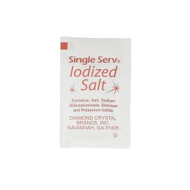 Single Serv Salt Flat Packets .75gm.