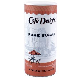Cafe Delight Sugar Canister 20oz.