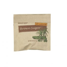 Single Serv Brown Sugar Packet 13gm.