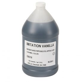 Chef's Companion Vanilla Extract Imitation Flavoring 128oz.