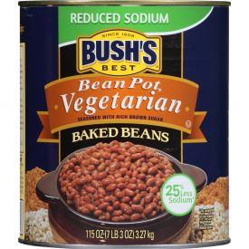 Bush's Reduced Sodium Vegetarian Baked Beans 115oz