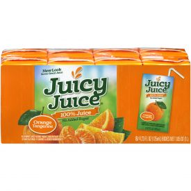 Juicy Juice Orange Tangerine 4.23oz.