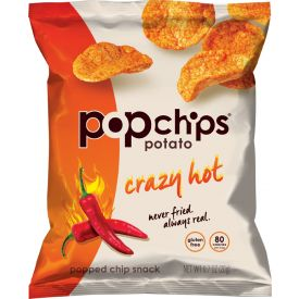 Popchips Crazy Hot Popped Potato Chips - 0.7oz