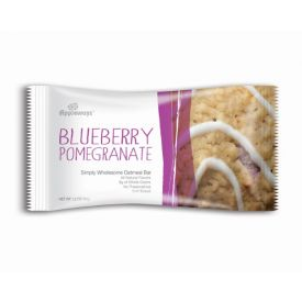 Appleways Whole Grain Blueberry Pomegranate Simply Wholesome Oatmeal Bar 2.4oz.