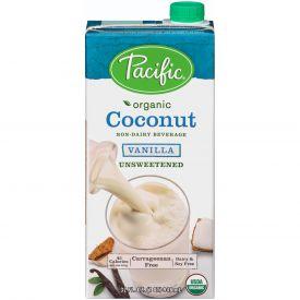 Pacific Foods Organic Coconut Unsweetened Vanilla Non-Dairy Beverage 32oz.