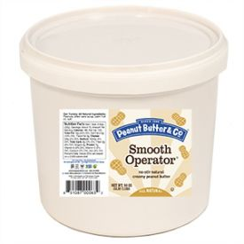 Peanut Butter & Co. Smooth Operator All Natural Smooth Peanut Butter 5lb.