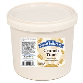 Peanut Butter & Co. Crunch Time All Natural Smooth Peanut Butter 5lb.